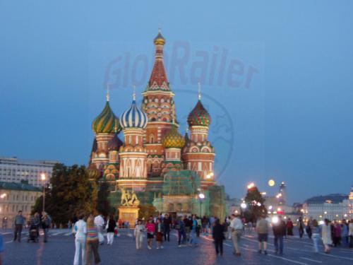 27.08.2004 - Vollmond über dem Roten Platz