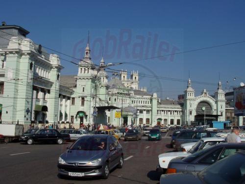28.08.2004 - Belorussischer Bahnhof in Moskau