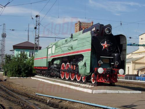 28.08.2004 - P 36 als Denkmal im Belorussischen Bahnhof