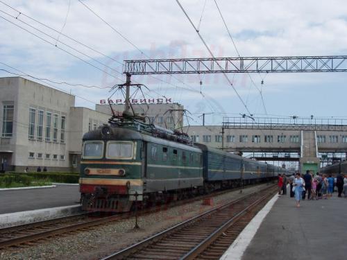 17.08.2004 - Bahnhof Barabinsk