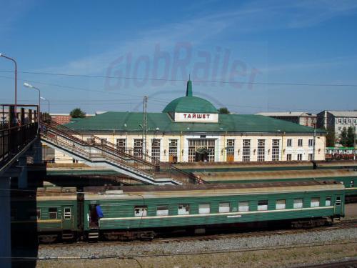 18.08.2004 - Bahnhof Tajschet