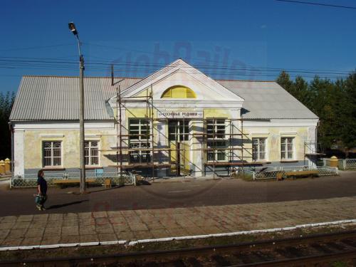 18.08.2004 - Bahnhof Socnowy Rodnik