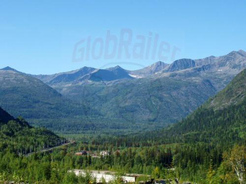 19.08.2004 - Trasse durch die Bajkalberge