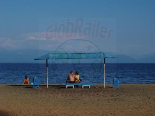 19.08.2004 - Strandbad am Ufer des Bajkal