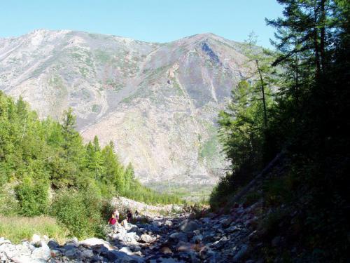 20.08.2004 - Spaziergang zum Wasserfall