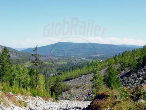 20.08.2004 - Bajkalberge mit Eisenbahn