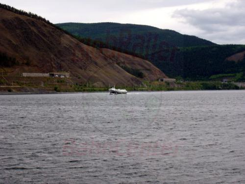 21.08.2004 - Einfahrt der Kometa nach Port Bajkal