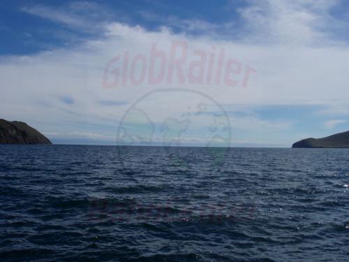 21.08.2004 - Seeenge zwischen der Insel Olchon und dem Festland