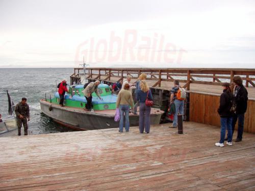 22.08.2004 - Fähre nach Port Bajkal