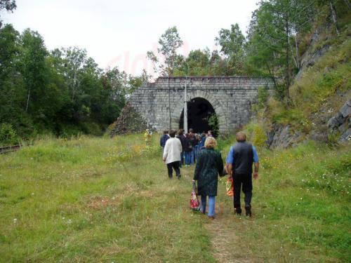 22.08.2004 - Tunnelwanderung auf der Bajkalbahn