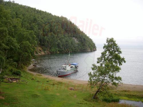 22.08.2004 - Bucht an der Bajkalbahn bri km 110