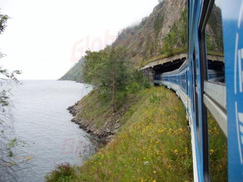 22.08.2004 - Zug 832 nach Sljudjanka auf der Bajkalbahn
