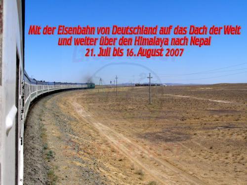 27.07.2007 - durch die Usbekische Steppe