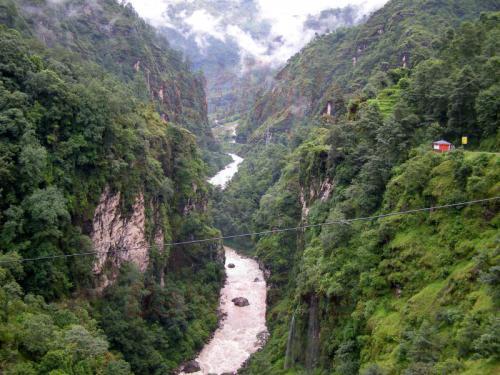 15.08.2007 - Schlucht zwischen Kodari und Barhabise