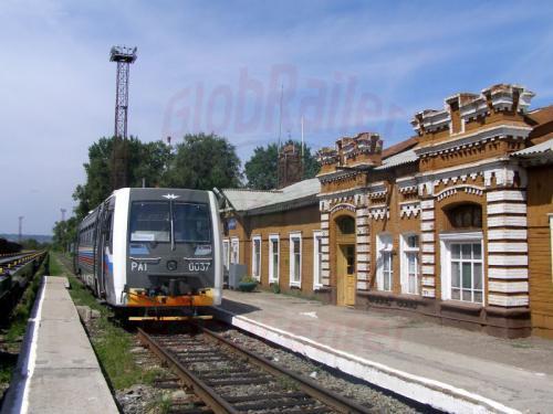 25.07.2007 - Pokrowsk Bahnhof