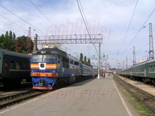 25.07.2007 - Saratov Zug 332 nach Taschkent