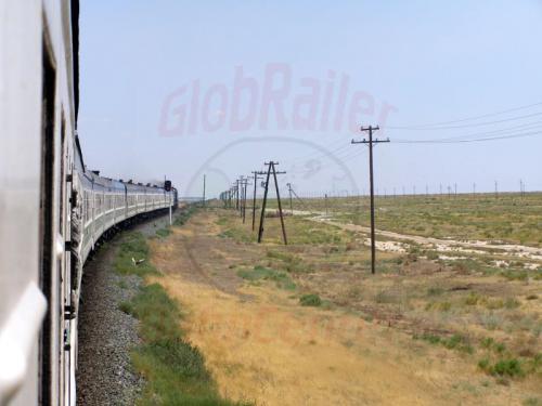 26.07.2007 - Zug 332 nach Taschkent
