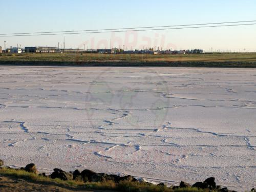 26.07.2007 - Salzsee in der Kasachischen Steppe