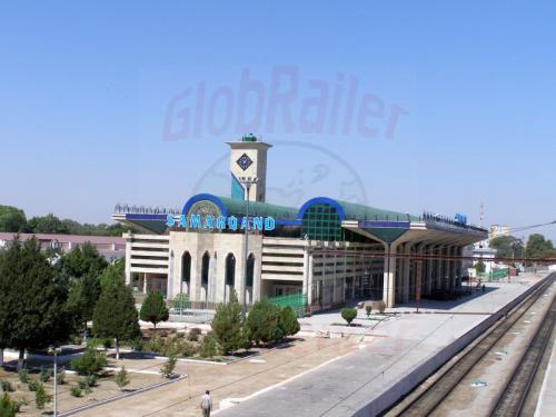 28.07.2007 - Samarkand Bahnhof