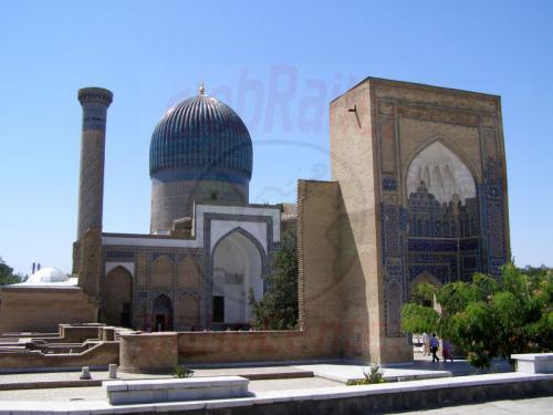 28.07.2007 - Samarkand - Gur Emir Mausoleum