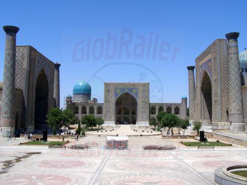28.07.2007 - Samarkand - Registan