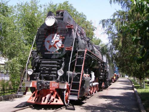 30.07.2007 - Taschkent - Eisenbahnmuseum