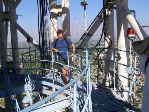 30.07.2007 - Taschkent - Fernsehturm