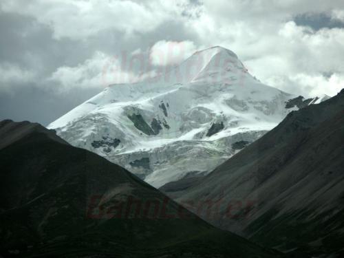 09.08.2007 - Schneeberg an der Lhasa-Bahn bei Koluk