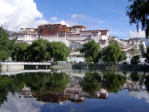 10.08.2007 - Lhasa-Potala Palast