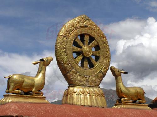 10.08.2007 - Lhasa-Auf dem Dach des Jokkang Tempel