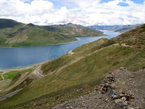 11.08.2007 - Yamdrok See in 4339 m Höhe