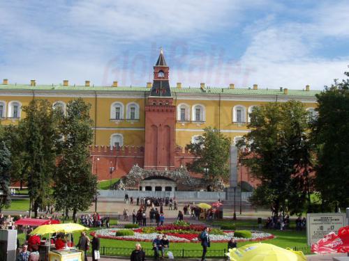 21.09.2003 - Moskau Kremlmauer