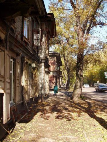 26.09.2003 - Holzhäuser in Irkutsk