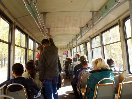 26.09.2003 - In der Straßenbahn von Irkutsk