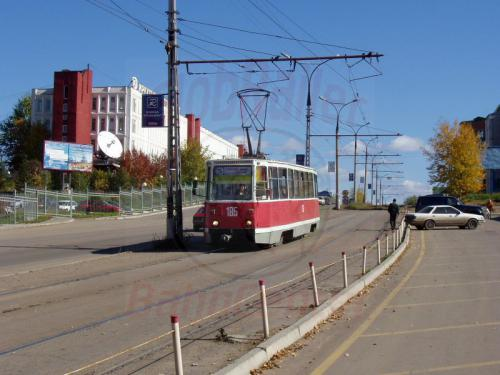 26.09.2003 - Tramway Linie 5 in Irkutsk