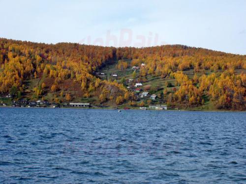 27.09.2003 - Schamanenstein in der Angara bei Listwjanka