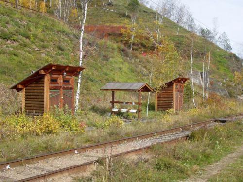 27.09.2003 - Waschsalon an der Bajkalbahn
