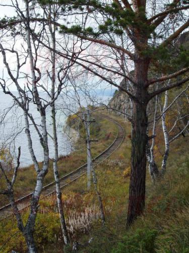 27.09.2003 - Trasse der Bajkalbahn