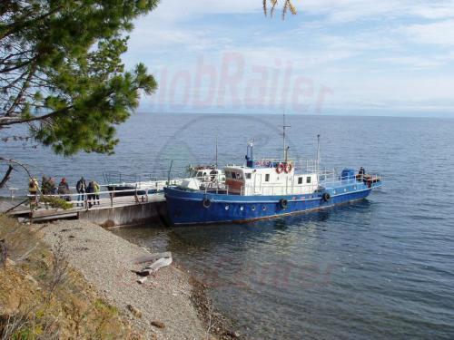 27.09.2003 - Fähre am Bajkalsee