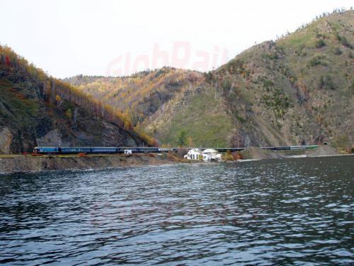 27.09.2003 - Sonderzug auf der Bajkalbahn