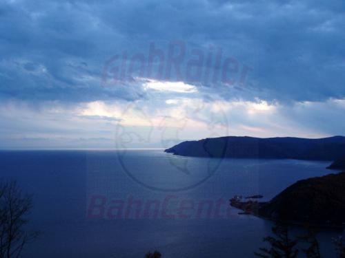 27.09.2003 - Es wird Nacht über dem Bajkalsee