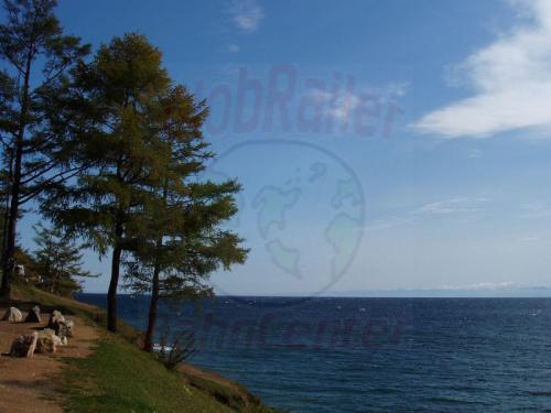 28.09.2003 - Ufer des Bajkalsee