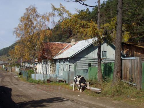 28.09.2003 - In den Straßen von Listwjanka