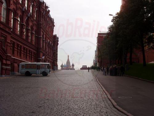 04.10.2003 - Moskau-Kreml, Roter Platz, Basilikus Kathedrale