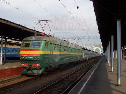 04.10.2003 - Moskau Zug 9 Polonez nach Warschau