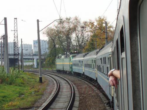 04.10.2003 - Irgendwo hinter Moskau im Zug 9