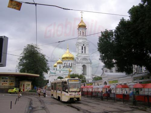 27.07.2008 - Rostov Strassenbahn und Kirche