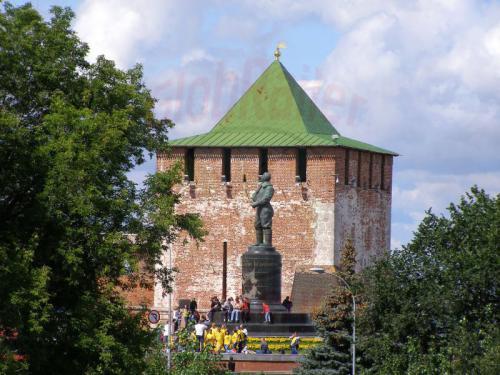 31.07.2008 - Nishnij-Nowgorod Kremel und Schkalow Denkmal