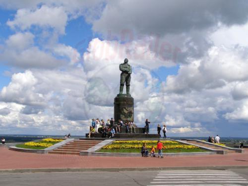 30.07.2008 - Nishnij-Nowgorod Schkalow Denkmal