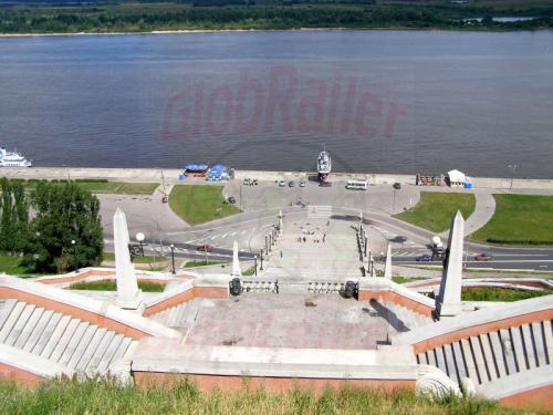 30.07.2008 - Nishnij-Nowgorod Schkalow-Treppe
